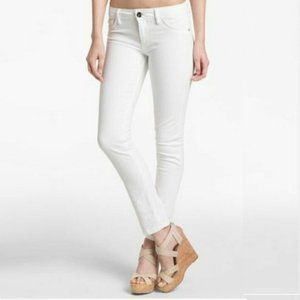 NWT Nine West Cigarette Skinny Jeans White #4319